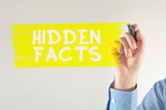 Hidden facts Royalty Free Stock Photography