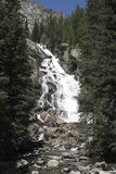 Hidden Falls. Near Jenny Lake in Grand Teton National Park Stock Image