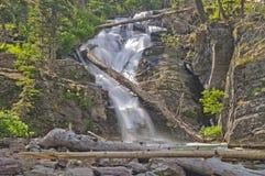 Hidden Falls in the Mountains Stock Photos