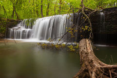 Hidden Falls. In Nerstrand/Big Woods State Park in Minnesota Stock Image