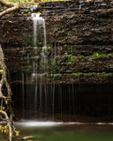Hidden Falls Section. Hidden Falls in Nerstrand/Big Woods State Park in Minnesota Royalty Free Stock Photography