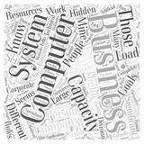 A Hidden Gold Mine in Every Business word cloud concept  background Stock Image