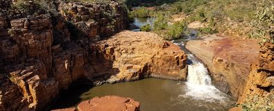 Hidden Gorge. A hidden gorge in the outback of Northern Territory, Australia royalty free stock images