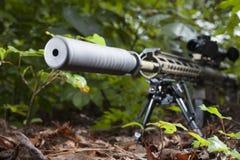Hidden gun Royalty Free Stock Image