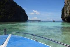 Hidden Lagoon in Thailand stock photo