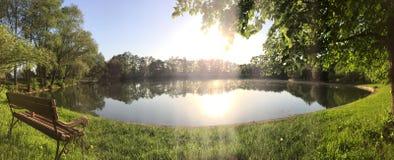 Hidden lake Royalty Free Stock Photography