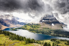 Hidden Lake Stock Images