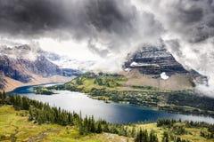 Hidden Lake Stock Images