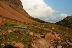 Hidden Lake Nature Trail at Logan Pass Stock Images