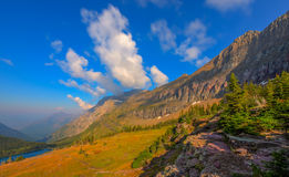 Hidden Lake Overlook Glacier National Park Royalty Free Stock Images