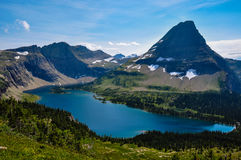 Hidden Lake Trail, Glacier National Park, Montana, USA Royalty Free Stock Photo