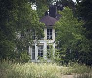 Hidden mansion. Royalty Free Stock Photography