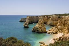 Hidden paradise beach Royalty Free Stock Images