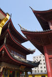 Hidden Shanghai: the Jade Buddha Temple, a very spiritual place Stock Photo