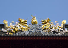 Hidden Shanghai: the Jade Buddha Temple, a very spiritual place Royalty Free Stock Image
