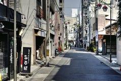 Street in Nagoya center, Japan stock image