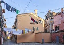 Hidden Venetian Square Stock Image