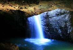 Hidden Waterfall Stock Images