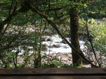 Hidden waters stock photo