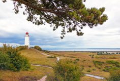 Free Hiddensee Island Landscape With Lighthouse Royalty Free Stock Images - 78073769