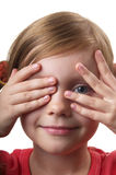 Hide and seek Stock Image