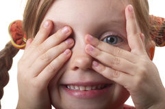 Hide and seek Stock Photos