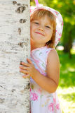 Hide and seek Stock Images