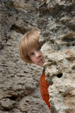 Hide and seek Royalty Free Stock Image