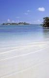 Hideaway de la isla Fotos de archivo libres de regalías