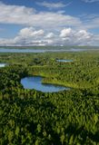 hideaway jezioro Fotografia Stock