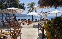 Hideaway tropicale della spiaggia fotografia stock libera da diritti