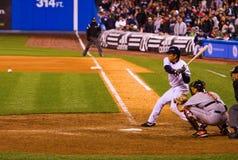 Hideki Matsui strikes Stock Photo