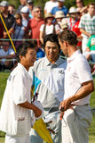 Hideki Matsuyama and Adam Scott at the Memorial Tournament Royalty Free Stock Photography