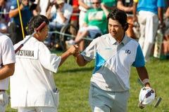 Hideki Matsuyama al torneo commemorativo fotografie stock libere da diritti