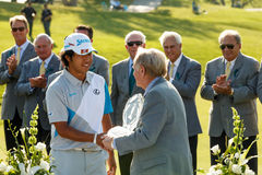 Hideki Matsuyama at the Memorial Tournament Royalty Free Stock Photo