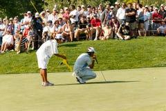 Hideki Matsuyama at the Memorial Tournament Stock Photo