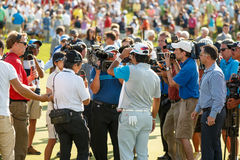 Hideki Matsuyama at the Memorial Tournament Royalty Free Stock Image