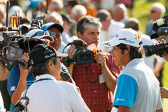 Hideki Matsuyama at the Memorial Tournament Stock Photography