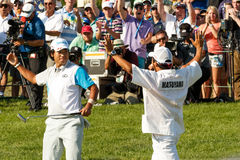 Hideki Matsuyama at the Memorial Tournament Stock Image