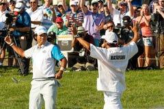 Hideki Matsuyama at the Memorial Tournament Stock Image