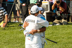 Hideki Matsuyama at the Memorial Tournament Royalty Free Stock Photography