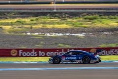 Hideki Mutoh of KEIHIN REAL RACING  in GT500 Qualiflying Categor Stock Images