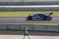 Hideki Mutoh of KEIHIN REAL RACING in Super GT Final Race 66 Lap Royalty Free Stock Images