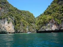 Hiden beach in Thailand Stock Image