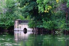 Hiden bridge Stock Image