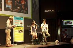 Hideo Kojima d'exposition de jeu de Tokyo Photographie stock libre de droits