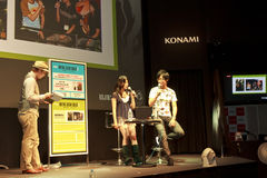 Hideo Kojima of Tokyo Game Show Royalty Free Stock Photography
