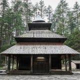Hidimda Devi Temple imagenes de archivo