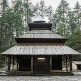 Hidimda Devi Temple. In Manali, Himachal Pradesh, India Stock Images
