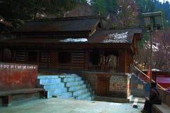Hidimda Devi ?wi?tynia w Manali, Himachal Pradesh, India zdjęcie royalty free